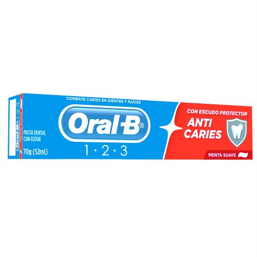 CREME DENTAL ORAL-B ANTICARIE 70G