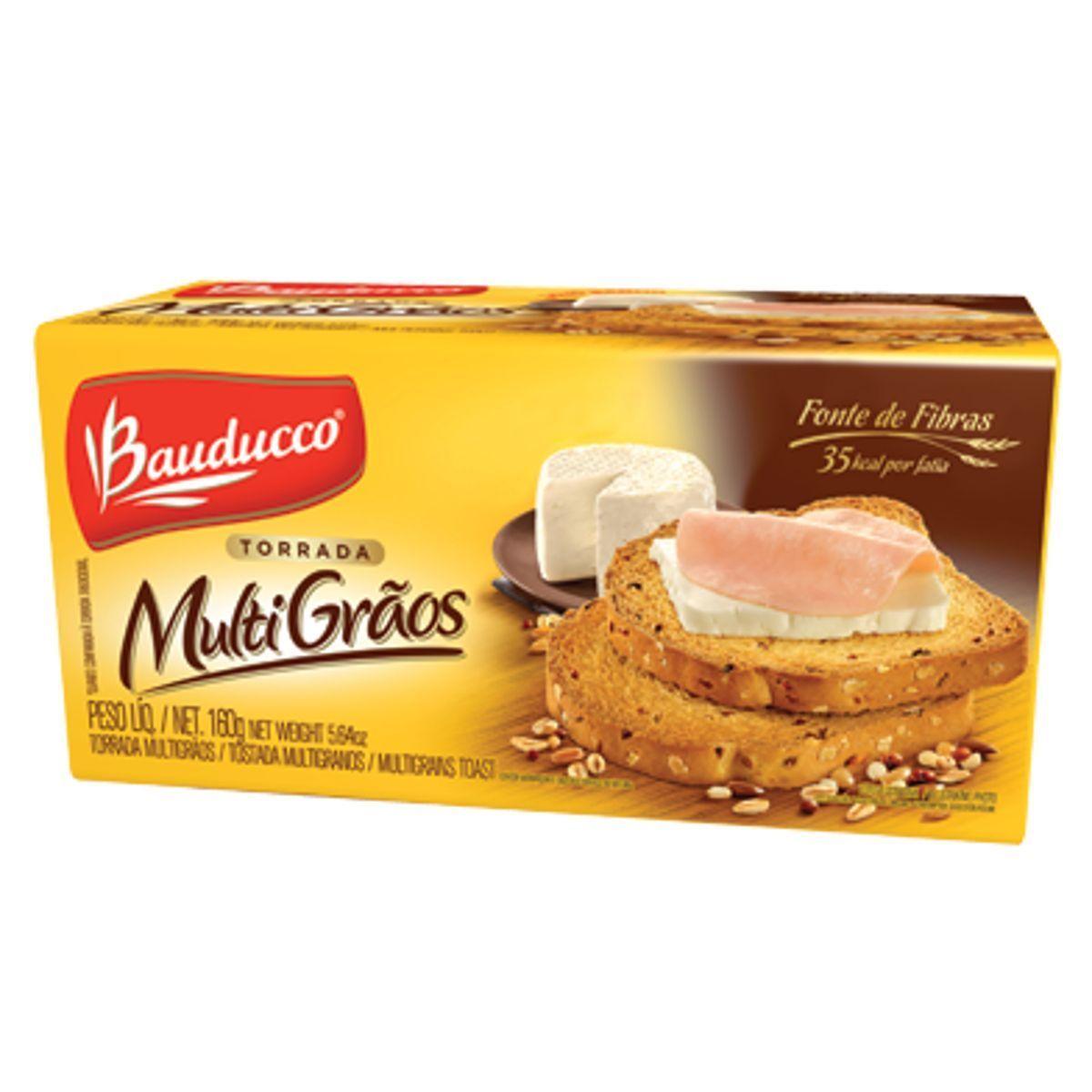 TORRADA MULTIGRÃOS BAUDUCCO 143G