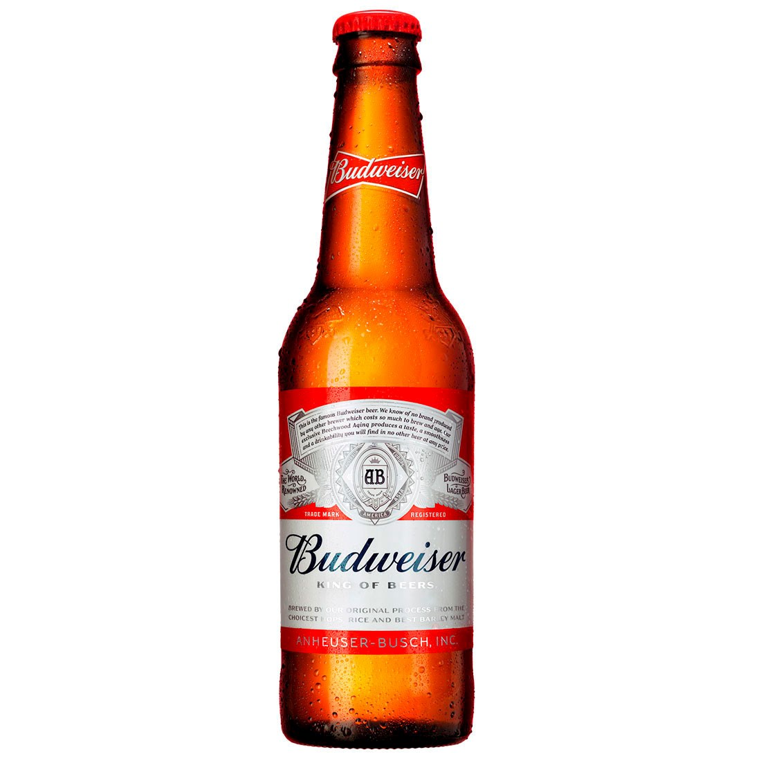 CERVEJA BUDWEISER LONG NECK 330ML