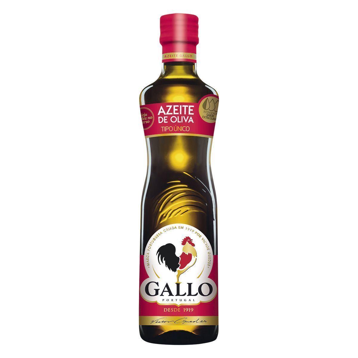 AZEITE TIPO UNICO GALLO VIDRO 500ML