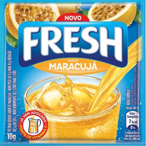 REFRESCO EM PÓ FRESH MARACUJÁ 10G