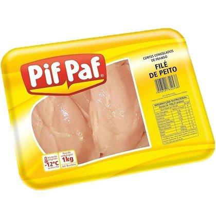FILÉ DE PEITO DE FRANGO PIF PAF 1KG