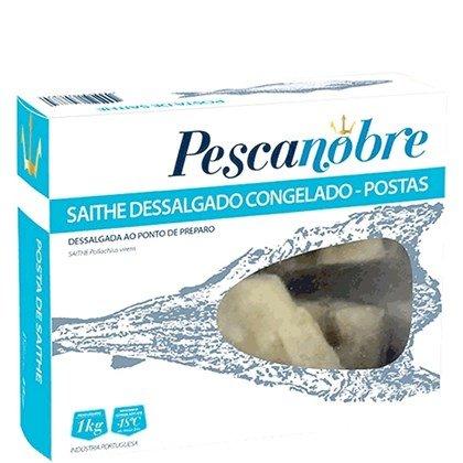 POSTAS DE BACALHAU SAITHE PESCANOBRE 1KG