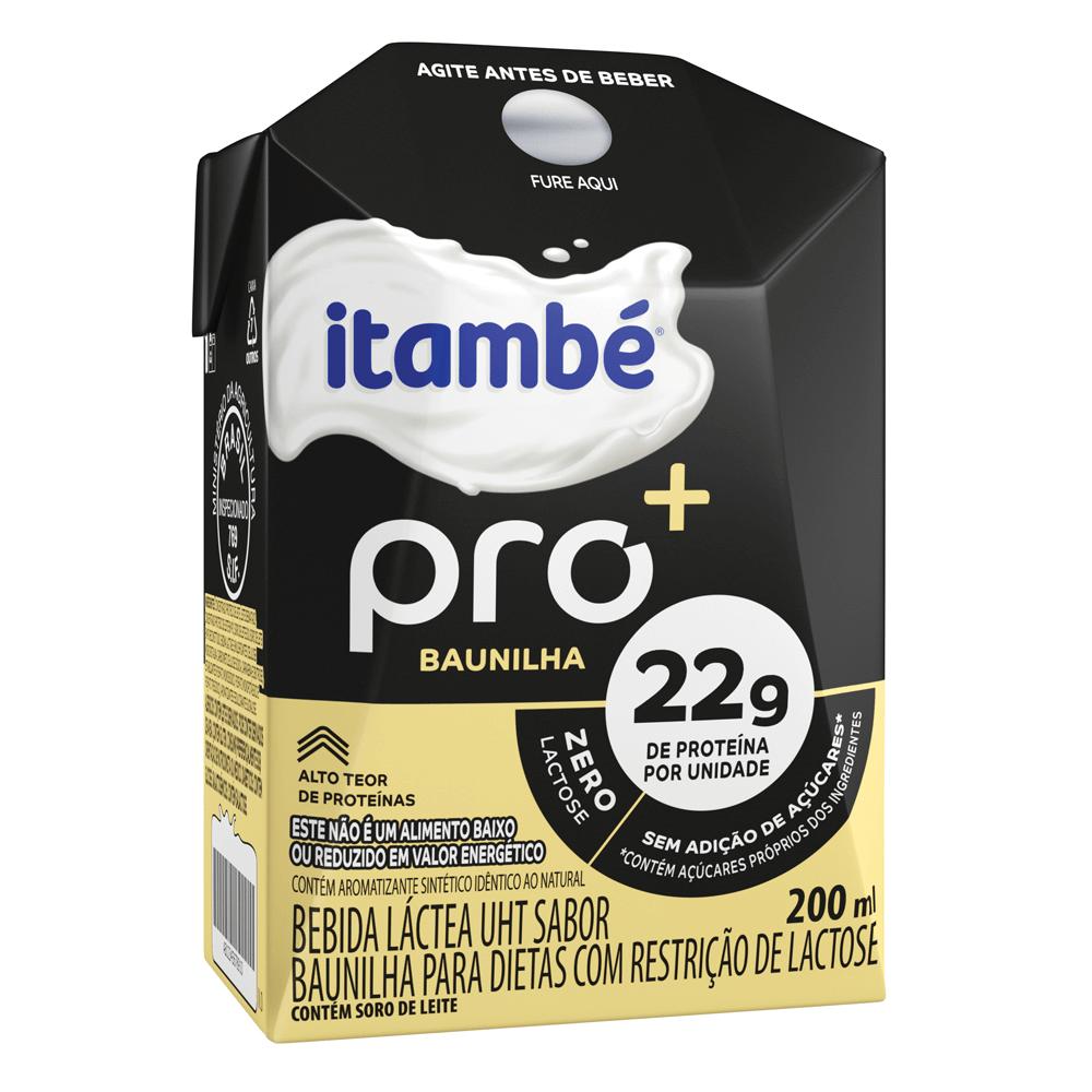 BEBIDA LÁCTEA ITAMBÉ PRO BAUNILHA 200ML