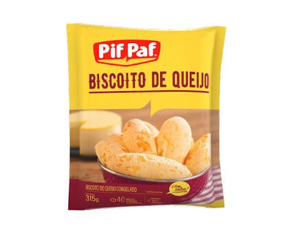 BISCOITO 3 QUEIJOS PIF PAF 315G
