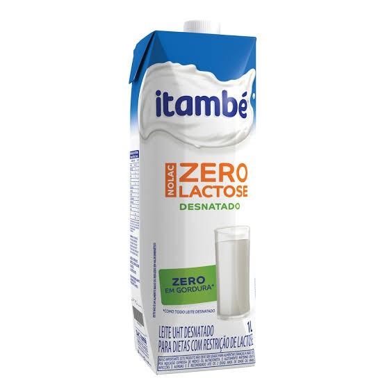 LEITE ITAMBÉ ZERO LACTOSE DESNATADO 1L