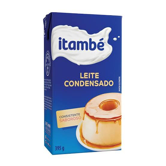 LEITE CONDENSADO ITAMBÉ CARTONADO 395G