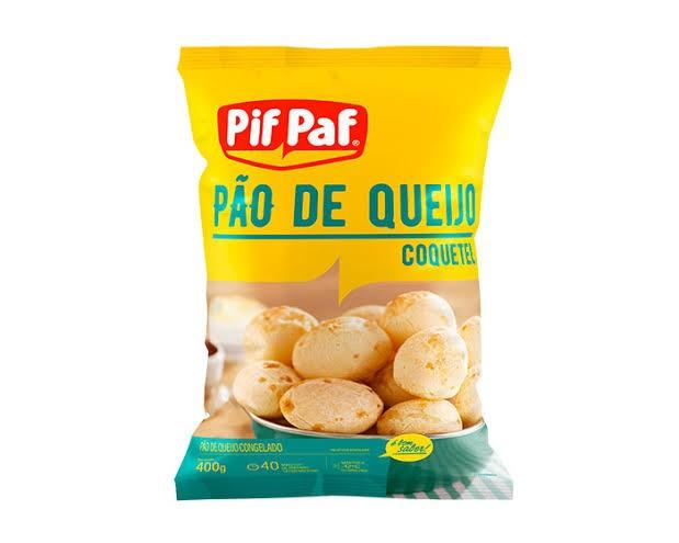 PÃO DE QUEIJO COQUETEL PIF PAF 400G