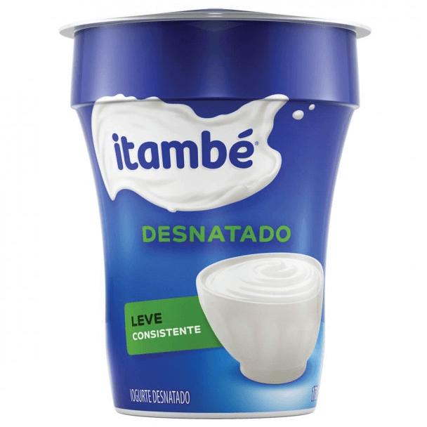IOGURTE NATURAL DESNATADO ITAMBÉ 170G