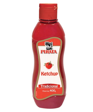 KETCHUP PIRATA TRADICIONAL 400G