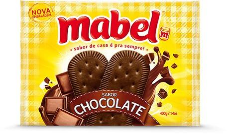 BISCOITO MABEL CHOCOLATE 400G