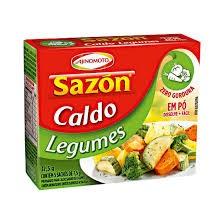 CALDO EM PÓ SAZON LEGUMES AJINOMOTO 37,5G