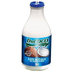 LEITE DE COCO DU COCO LIGHT 200ML