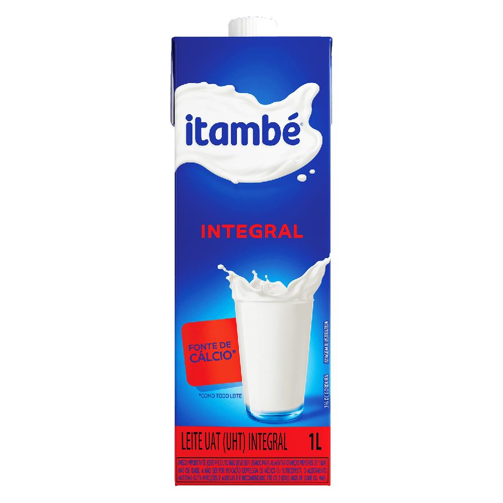 LEITE UHT ITAMBÉ INTEGRAL 1L