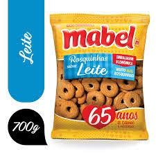 BISCOITO MABEL ROSQUINHA DE LEITE  700G