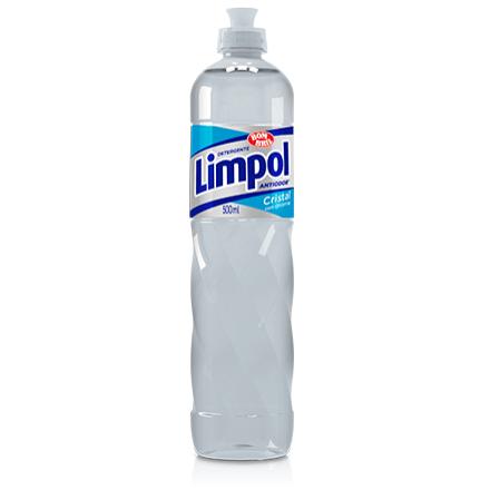 DETERGENTE LÍQUIDO LIMPOL CRYSTAL 500ML