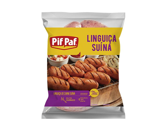 LINGUIÇA SUÍNA PIF PAF CHURRASCO 1KG