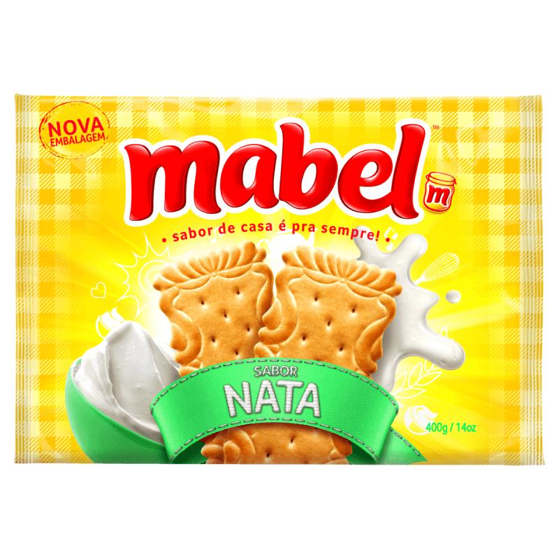 BISCOITO MABEL NATA 400G