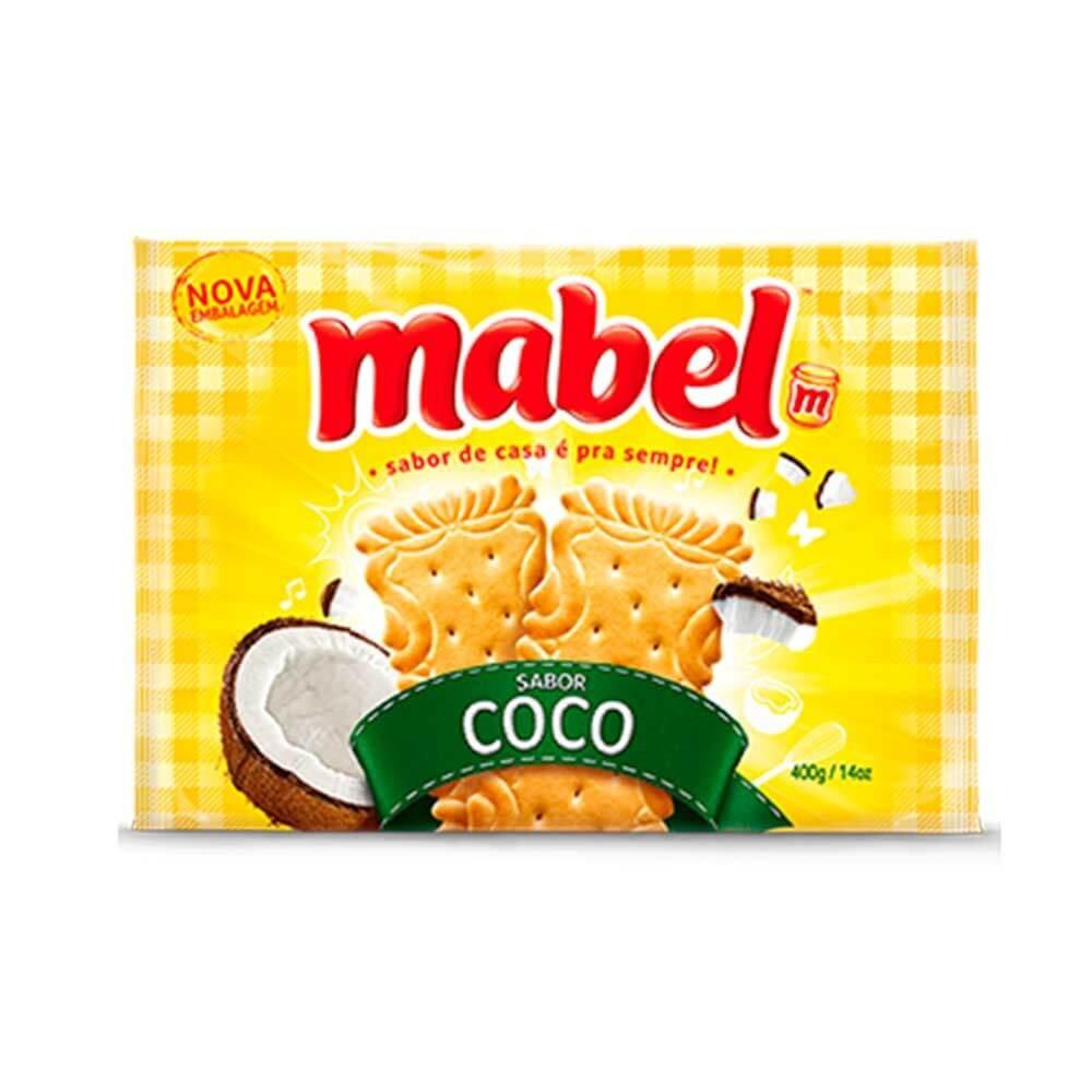 BISCOITO MABEL COCO 400G