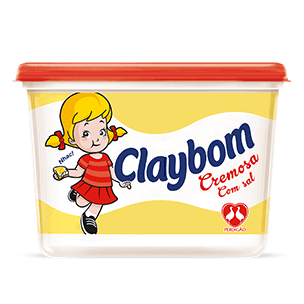 MARGARINA CLAYBOM COM SAL POTE 500G