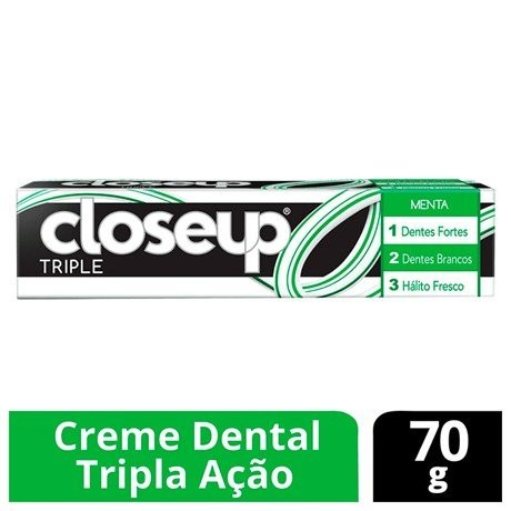 CREME DENTAL CLOSEUP TRIPLE MENTA 70G