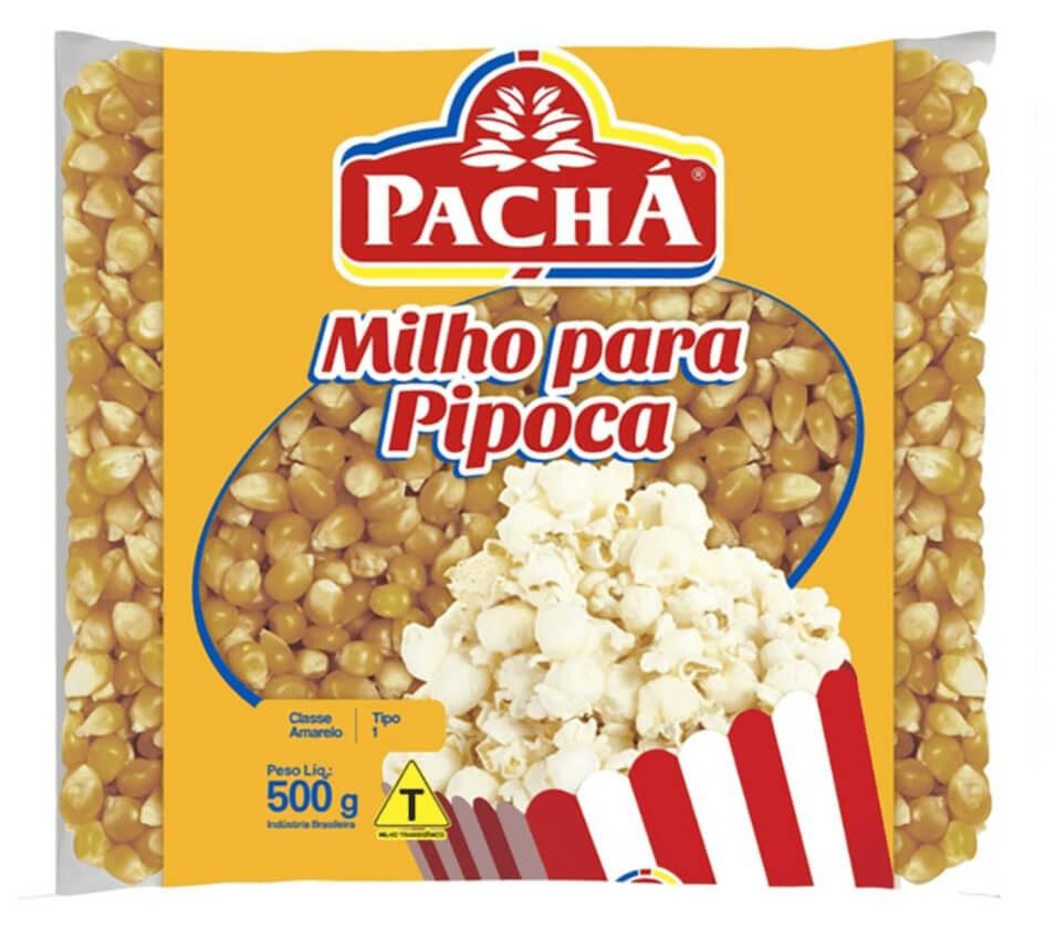 MILHO DE PIPOCA PACHÁ 500G