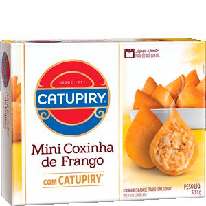 MINI COXINHA DE FRANGO COM CATUPIRY 300G