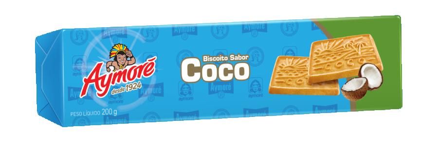 BISCOITO DE COCO AYMORE 200G