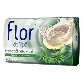 SABONETE FLOR DE YPÊ ÁGUA DE COCO E ALECRIM 85g