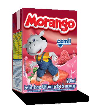 BEBIDA LÁCTEA MORANGO CEMIL 200ML