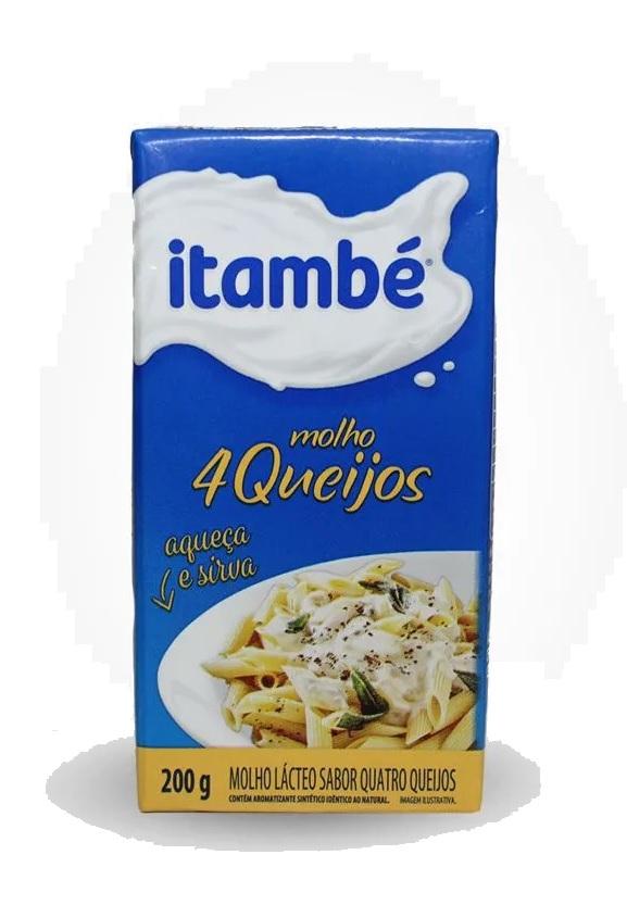 MOLHO 4 QUEIJOS ITAMBÉ 200G