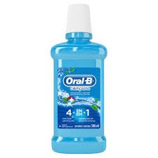 ANTISSÉPTICO BUCAL ORAL B MENTA REFRESCANTE 500ML