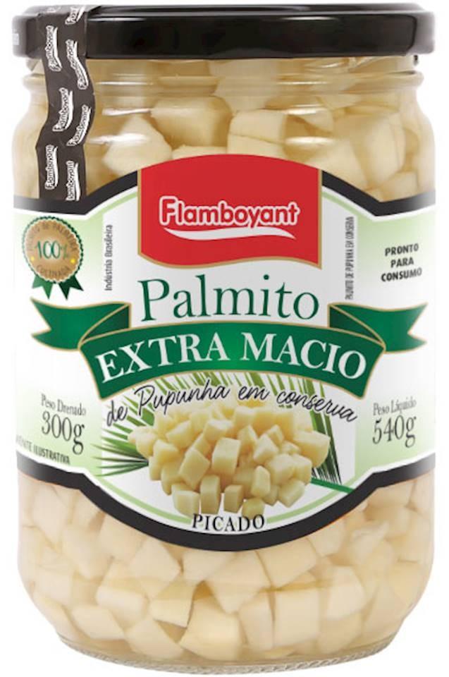 PALMITO EXTRA MACIO PICADO FLAMBOYANT 300G