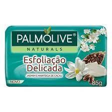 SABONETE PALMOLIVE ESFOLIAÇÃO DELICADA 85G