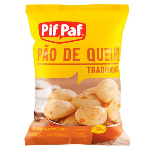 PÃO DE QUEIJO TRADICIONAL PIF PAF 400G