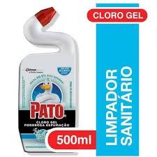 CLORO GEL PATO MARINE PODEROSA ESPUMAÇÃO 500ML