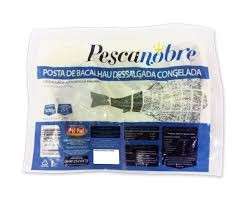 POSTAS DE BACALHAU  DESSALGADAS PESCANOBRE 800G