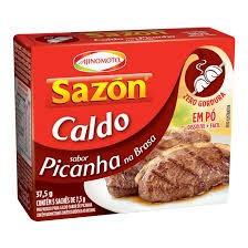 CALDO EM PÓ SAZON PICANHA AJINOMOTO 37,5G