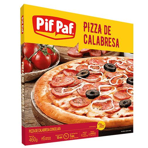PIZZA DE CALABRESA PIF PAF 460G
