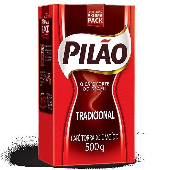 CAFÉ PILÃO TRADICIONAL A VACUO 500G