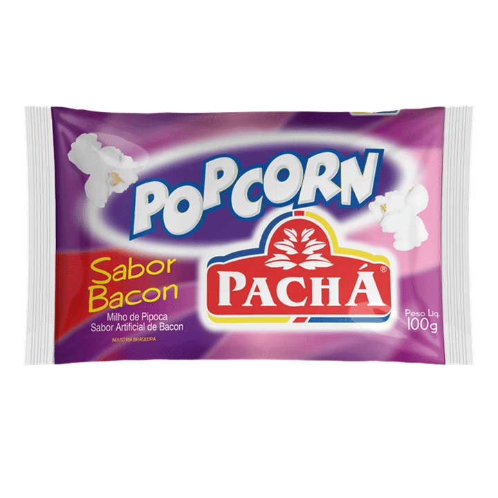PIPOCA DE MICROONDAS BACON PACHÁ 100G