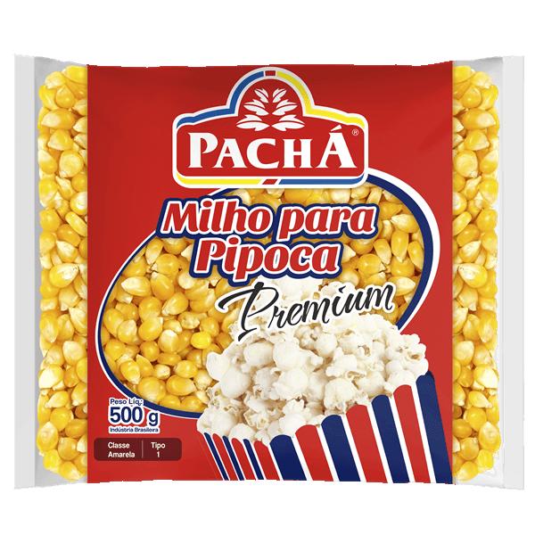 MILHO DE PIPOCA PREMIUM PACHÁ 500G
