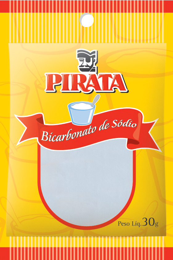 BICARBONATO DE SÓDIO PIRATA 30G