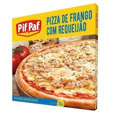 PIZZA DE FRANGO COM REQUEIJÃO PIF PAF 460G