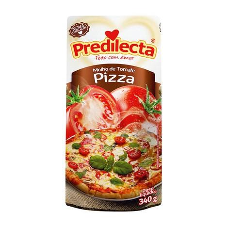 MOLHO DE TOMATE PIZZA PREDILECTA SACHÊ 340G