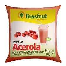 POLPA DE ACEROLA BRASFRUT 100G