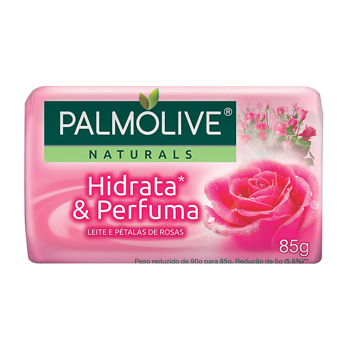 SABONETE PALMOLIVE PETALAS DE ROSA 85G