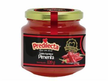 GELEIA DE PIMENTA PREMIUM PREDILECTA 320G