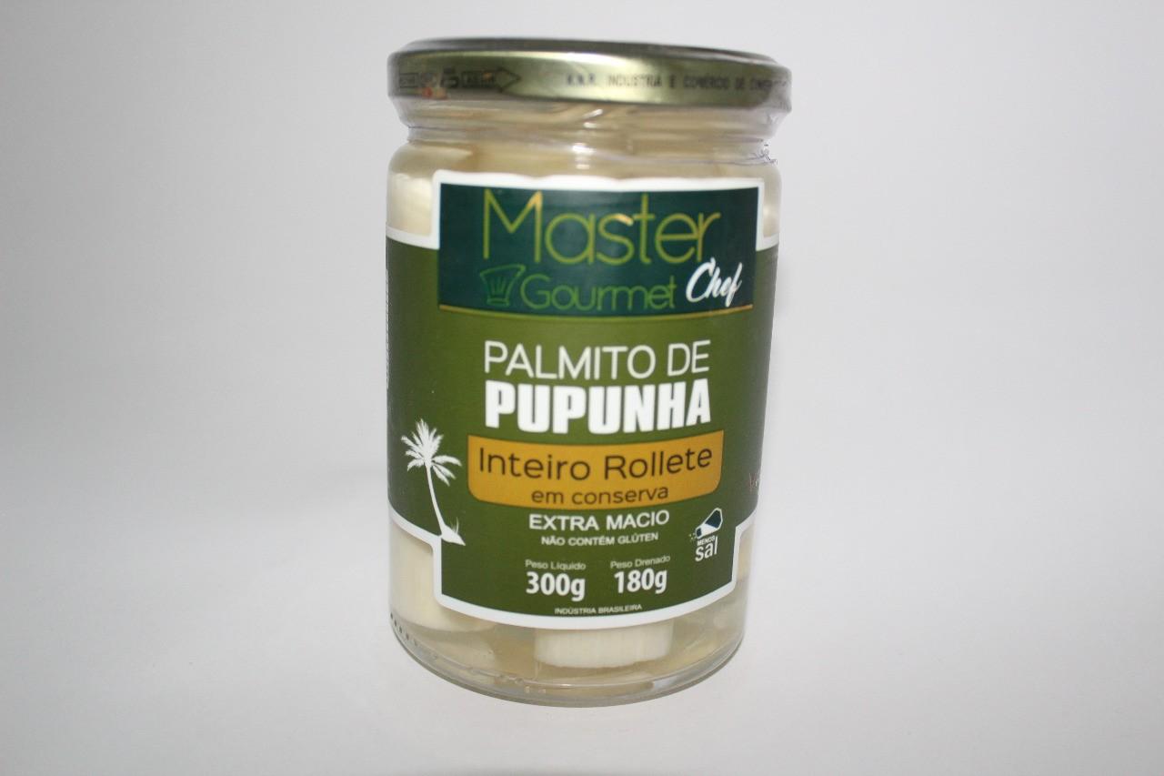 PALMITO INTEIRO PUPUNHA  MASTER GOURMET 180G