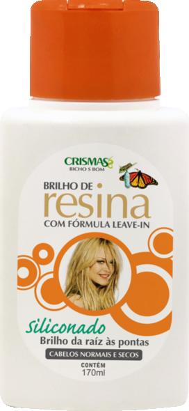 CREME DE PENTEAR BRILHO RESINA SILICONADO CRISMAS 170ML